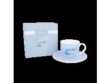"Ashdene Filiżanki porcelanowe do herbaty 16328 ""motyl"""