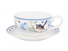 """Ashdene Filiżanki porcelanowe do herbaty 16341 """"strzyżyk"""""""