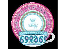 "Ashdene Filiżanki porcelanowe do herbaty 16370 ""boho"""