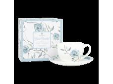"""Ashdene Filiżanki porcelanowe do herbaty 16422 """"kwitnący kwiat"""""""