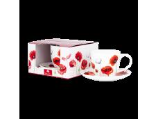 "Ashdene Filiżanki porcelanowe do herbaty 16432 ""maki"""