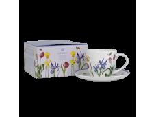 """Ashdene Filiżanki porcelanowe do herbaty 16934 """"przydomowy ogród"""""""
