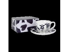 "Ashdene Filiżanki porcelanowe do herbaty 16940 ""krówki"""