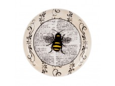 """Ashdene Talerzyk porcelanowy koktajlowy 16317 """"pszczółki"""""""