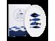 Ashdene Talerz porcelanowy duży owalny 16543