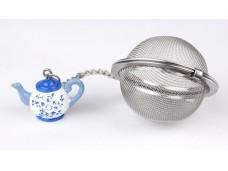 """Ashdene Zaparzaczka do herbaty na łańcuszku 20001 """"czajniczek niebieski"""""""