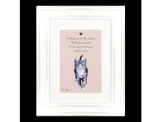"""Ashdene Obrazek w ramce 30003 """"psotne kotki różowy"""""""