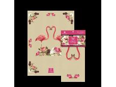 """Ashdene Ręcznik kuchenny 40037 'flamingo rose"""""""