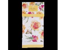 """Ashdene Ręcznik kuchenny 40041 """"róża tango yellow"""""""