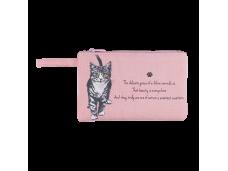 """Ashdene Saszetka mała 56009 """"psotne kotki"""" różowa"""