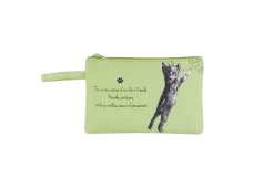 "Ashdene Saszetka mała 56010 ""psotne kotki"" zielona"