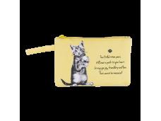 "Ashdene Saszetka mała 56011 ""psotne kotki"" żółta"