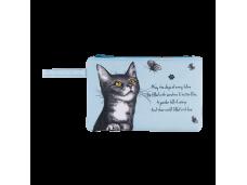 """Ashdene Saszetka mała 56012 """"psotne kotki"""" niebieska"""