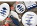 """Ashdene Talerze porcelanowe duże 2 szt. 16538 """"adriatyk"""""""