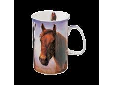 "Ashdene Kubek porcelanowy 15483 ""konie folbluty"""