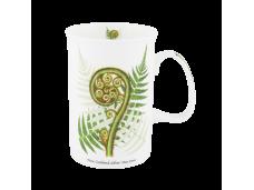 """Ashdene Kubek porcelanowy 16077 """"kwiaty NZ - srebrna paproć"""""""