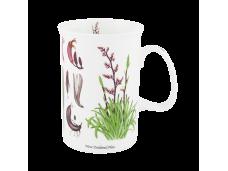 """Ashdene Kubek porcelanowy 16078  """"kwiaty NZ - len"""""""