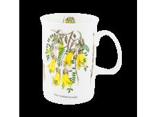"""Ashdene Kubek porcelanowy 16080 """"kwiaty NZ - kowhai"""""""