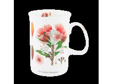 "Ashdene Kubek porcelanowy 16082  ""kwiaty NZ - pohutukawa"""