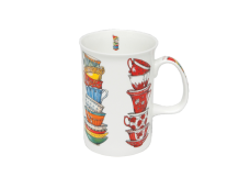 "Ashdene Kubek porcelanowy 16084 ""kolorowe filiżanki"""