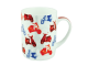 """Ashdene Kubek porcelanowy 16151 """"skutery"""""""