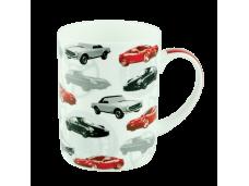 """Ashdene Kubek porcelanowy 16153 """"samochody"""""""