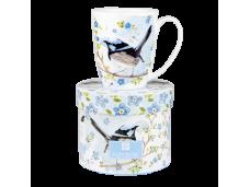 "Ashdene Kubek porcelanowy 16205 ""ptaki - strzyżyk"""
