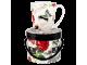 "Ashdene Kubek porcelanowy 16215 ""róże i motyle"""