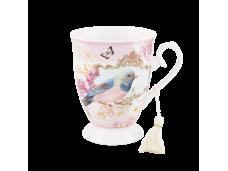 """Ashdene Kubek porcelanowy 16246 """"niebieski ptak"""""""