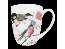 """Ashdene Kubek porcelanowy 16262 """"różowa zięba"""""""