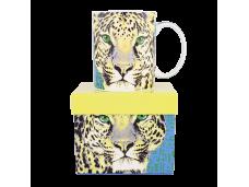 """Ashdene Kubek porcelanowy 16293 """"gepard"""""""