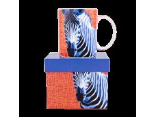 """Ashdene Kubek porcelanowy 16295 """"zebra"""""""