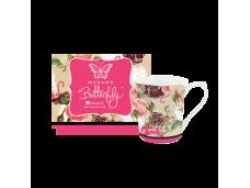 """Ashdene Kubek porcelanowy 16310 """"flamingo rose"""""""