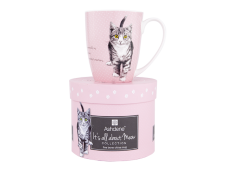 """Ashdene Kubek porcelanowy 16336 """"psotne kotki różowy"""""""