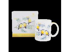 "Ashdene Kubek porcelanowy 16354 ""yellow robin"""