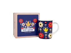 """Ashdene Kubek porcelanowy 16390 """"Ogród Heidi - kwiaty"""""""