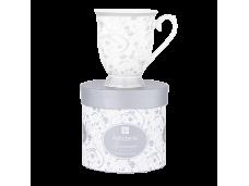 "Ashdene Kubek porcelanowy 16445 ""floral silver"""