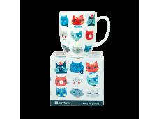 "Ashdene Kubek porcelanowy 16555 ""kociaki i psiaki - kociak wz. 1"""