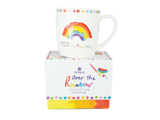 "Ashdene Kubek porcelanowy 16560 ""Over the Rainbow - tęcza"""
