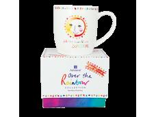 """Ashdene Kubek porcelanowy 16564 """"Over the Rainbow - słoneczko"""""""