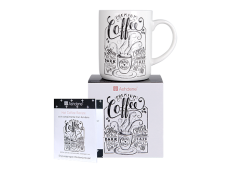 "Ashdene Kubek porcelanowy 16955 ""premium coffee"""