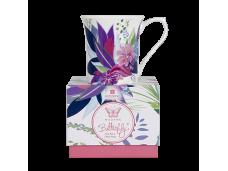 """Ashdene Kubek porcelanowy 16959 """"madame butterfly fleur"""""""