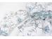 """Ashdene Taca okrągła duża 89622 """"kwitnący kwiat"""""""