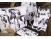"""Ashdene Talerz porcelanowy duży obiadowy 16525 """"krówki"""""""