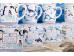 """Ashdene Kubek porcelanowy 16483 """"błękit morza - walenie"""""""