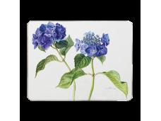 """Ashdene Podkładki korkowe duże 10611 """"niebieska hortensja"""""""