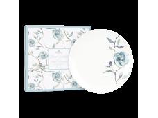 "Ashdene Talerzyki porcelanowe deserowe 2 szt. 16427 ""kwitnący kwiat"""