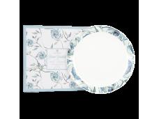 "Ashdene Talerze porcelanowe obiadowe duże 2 szt 16428 ""kwitnący kwiat"""
