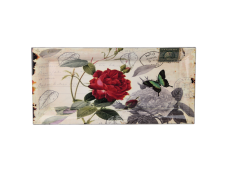 """Ashdene Taca duża podłużna 89533 """"poczta - róże"""""""
