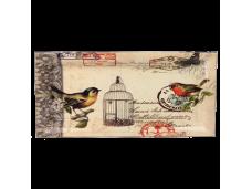 """Ashdene Taca duża podłużna 89535 """"poczta - ptaki"""""""